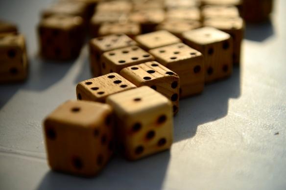 El dau i la probavilitat un joc una disciplina
